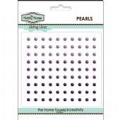 The Hobby House Self Adhesive Pearls - 3mm Liking Lilac - HH306
